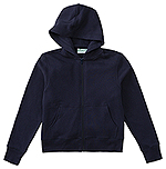Classroom Uniforms Classroom Unisex Zip-up Sweatshirt in Dark Navy (59222-DNVY)