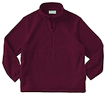 Classroom Uniforms Classroom Adult Unisex Polar Fleece Pullover in Burgundy (59304-BUR)