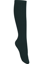 Classroom Uniforms Classroom Girls/Juniors Cable Knee Hi Socks 3 PK in Hunter Green (5HF102-HUN)