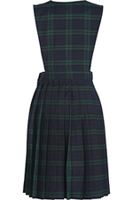 Classroom Uniforms Girl Plaid Slit Front Knife Pleat Jumper in PLAID 79 (5P4721A-P79)