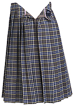 Classroom Uniforms Girls Plaid Knife Pleat Skirt in PLAID 42 (5P5322A-P42)