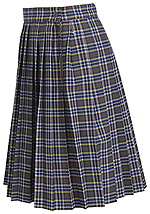 Classroom Uniforms Girls Plus Plaid Knife Pleat Skirt in PLAID 42 (5P5323A-P42)