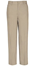 Photo of REAL SCHOOL Boys Flat Front Pant