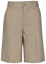 Photo of REAL SCHOOL Boys Husky Flat Front Short