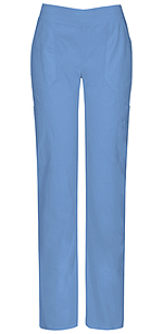 Photo of Mid Rise Moderate Flare Leg Pull-On Pant