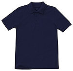 Classroom Uniforms Classroom Adult Short Sleeve Pique Polo in SS Navy (CR832X-SSNV)