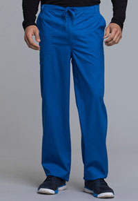 Cherokee Men's Fly Front Drawstring Pant Royal (1022-ROYV)