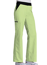 Cherokee Mid Rise Knit Waist Pull-On Pant Celadon (1031-CELB)