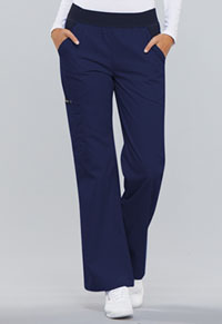 Mid Rise Knit Waist Pull-On Pant (1031-NVYB)
