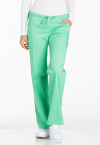 Low Rise Straight Leg Drawstring Pant (1066P-SPCT)