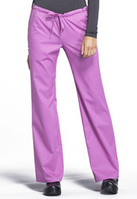 Cherokee Low Rise Straight Leg Drawstring Pant Berry Bodacious (1066-BBOD)