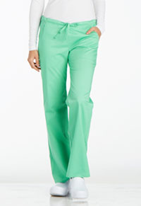 Low Rise Straight Leg Drawstring Pant (1066-SPCT)