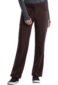 a67f2f4b220 Cherokee Low Rise Straight Leg Drawstring Pant Espresso 1123AP-ESPS