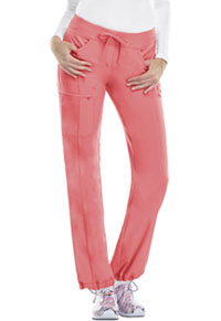 Cherokee Low Rise Straight Leg Drawstring Pant Apricot Delight (1123A-ADPS)
