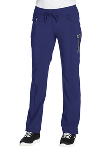 Cherokee Low Rise Straight Leg Drawstring Pant Galaxy Blue (1123A-GAB)