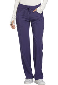Cherokee Low Rise Straight Leg Drawstring Pant Grape (1123A-GRP)