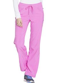 Cherokee Low Rise Straight Leg Drawstring Pant Lipstick Pink (1123A-LIPK)
