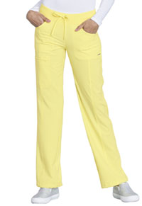 Cherokee Low Rise Straight Leg Drawstring Pant Lovely Lemon (1123A-LOMO)