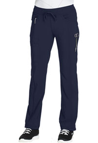 Low Rise Straight Leg Drawstring Pant Navy (1123A-NYPS)