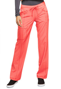 Cherokee Low Rise Straight Leg Drawstring Pant Orange Sugar (1123A-ORSR)