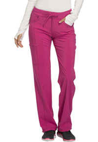 Cherokee Low Rise Straight Leg Drawstring Pant Power Berry (1123A-POBR)