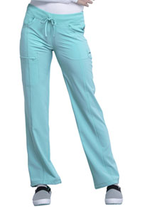 Cherokee Low Rise Straight Leg Drawstring Pant Sea Salt (1123A-STAL)