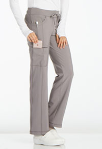 Cherokee Low Rise Straight Leg Drawstring Pant Stone (1123A-STPS)