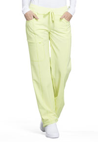 Cherokee Low Rise Straight Leg Drawstring Pant Sunny Day (1123A-SUDA)