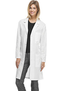 40 Unisex Lab Coat White (1346AB-WHTD)