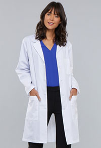 40 Unisex Lab Coat White (1346-WHT)