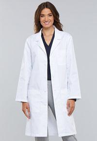 Cherokee 40 Unisex Lab Coat White (1446A-WHTD)