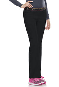 BFF Mid Rise Elastic Waist Cargo Pant (20100-BCKH)
