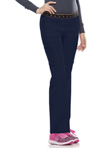HeartSoul BFF Mid Rise Elastic Waist Cargo Pant Navy (20100-NAYH)