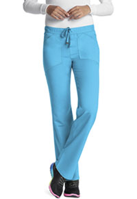 HeartSoul Drawn To You Low Rise Drawstring Pant Turquoise (20102A-TRQ)