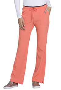 HeartSoul Heart Breaker Low Rise Drawstring Pant Orange Pop (20110-ORNH)