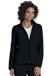Heartsoul Zip Front Warm-Up Jacket Black (20310-BCKH)