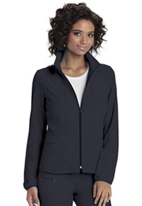 Break on Through Zip Front Warm-Up Jacket (20310-PEWH) (20310-PEWH)