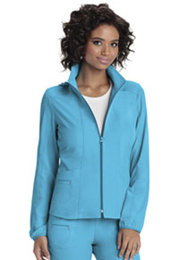 HeartSoul Zip Front Warm-Up Jacket Turquoise (20310-TURH)