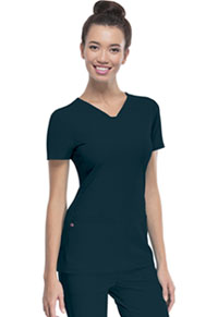 "Break on Through ""Pitter-Pat"" Shaped V-Neck Top (20710-CABH) (20710-CABH)"