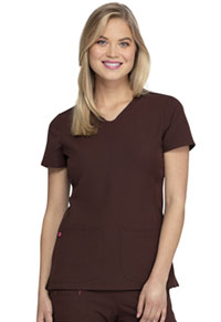 Heartsoul Shaped V-Neck Top Espresso (20710-ESP)