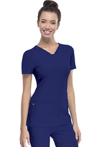 "Break on Through ""Pitter-Pat"" Shaped V-Neck Top (20710-GLXH) (20710-GLXH)"