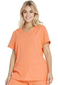Heartsoul Shaped V-Neck Top Main Squeeze (20710-MASZ)