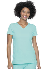 Heartsoul Shaped V-Neck Top Tranquil Sea (20710-TQSE)
