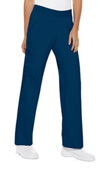 Mid Rise Knit Waist Pull-On Pant