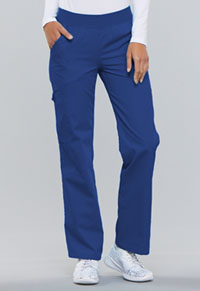 Cherokee Mid Rise Knit Waist Pull-On Pant Galaxy Blue (2085-GABB)