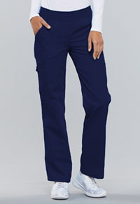 Cherokee Mid Rise Knit Waist Pull-On Pant Navy (2085-NVYB)