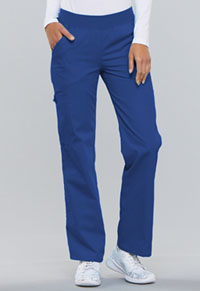 Cherokee Mid Rise Knit Waist Pull-On Pant Royal (2085-RYLB)