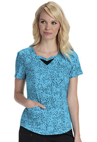 HeartSoul Sweetheart Neck Top You've Been Spotted Turquoise (20908-YOTQ)