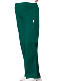 Cherokee Maternity Knit Waist Pull-On Pant Hunter Green (2092-HNTB)