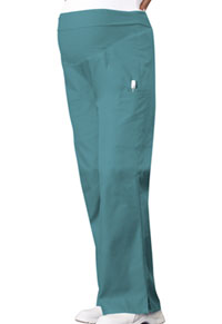 Cherokee Maternity Knit Waist Pull-On Pant Teal Blue (2092-TELB)